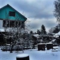 Photo taken at Ж/Д платформа Рахья by Анастасия on 2/15/2016