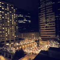 Photo taken at Hilton Seattle by Leonie L. on 1/1/2013