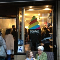 Foto scattata a Big Gay Ice Cream Shop da Olivier P. il 11/11/2012
