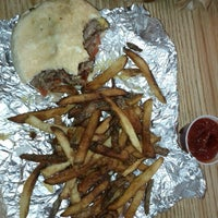 Photo taken at Five Guys by Ray M. on 10/17/2012