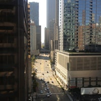 Photo taken at DoubleTree by Hilton Hotel Chicago - Magnificent Mile by Aaron C. on 10/4/2012
