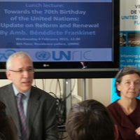 Photo taken at United Nations Regional Information Centre for Western Europe (UNRIC) by Yvan on 2/4/2015