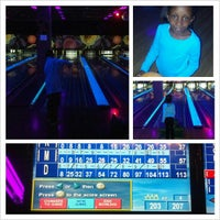 Photo taken at New Roc n Bowl at Funfuzion New Roc City by Jay R. on 11/24/2012