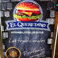 "Photo taken at Hamburguesas ""El Queretano"" by miguel r. on 8/8/2013"