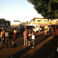 Photo taken at La Mesa Food Truck Gathering by Earl W. on 10/12/2013