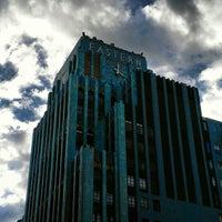 Photo taken at Eastern Columbia Lofts by Arjan T. on 1/28/2013