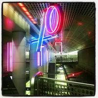 Photo taken at Pershing Square Metro Station by Arjan T. on 12/31/2012