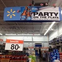 Photo taken at Walmart Supercenter by nanasaurus r. on 8/25/2013