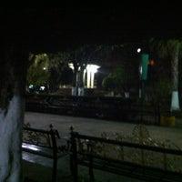 Photo taken at Plaza Principal by Javier on 1/28/2013