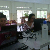 Photo taken at UNKLAB Edelweiss Dorm by Christa K. on 11/6/2012