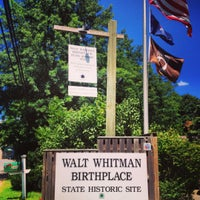 Photo taken at Walt Whitman Birthplace by Eugenia on 8/4/2013