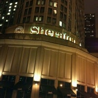 Photo taken at Sheraton Grand Chicago by Gail M. on 12/16/2012