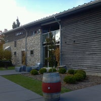 Photo taken at Stone's Throw Winery by Gail M. on 10/7/2012