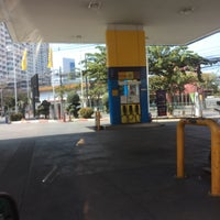 Photo taken at Petronas by Jedsada on 1/1/2016