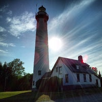 Photo taken at New Presque Isle Lighthouse by Mike R. on 7/21/2013