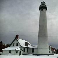 Photo taken at New Presque Isle Lighthouse by Mike R. on 12/27/2013