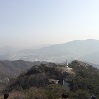 Photo taken at 관악산 연주대 by Byoung Hoon k. on 3/9/2013