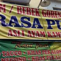 """Photo taken at Ayam Goreng """"Rasa Puas"""" by Gama A. G. on 11/7/2013"""