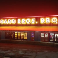 Photo taken at Babb Bros. BBQ & Blues by LaDerrick on 12/15/2012