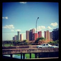 Photo taken at Ponte Juscelino Kubstichek by Rodrigo A. on 10/31/2012