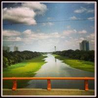 Photo taken at Ponte Juscelino Kubstichek by Rodrigo A. on 3/12/2013