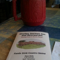 Photo taken at Shatley Springs Inn and Restaurant by Wesley B. on 5/17/2013