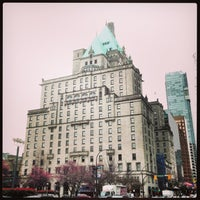 Photo taken at The Fairmont Hotel Vancouver by Ando on 3/19/2013