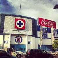 Photo taken at Estadio Azul by Ando on 12/13/2012