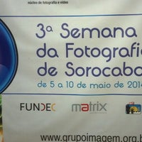 Photo taken at Grupo Imagem Nucleo de Fotografia by Edvania Moreira on 5/6/2014