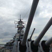 Photo taken at USS Wisconsin (BB-64) by Kevin P. on 8/8/2013
