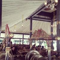 Photo taken at Bangsal Srimanganti Kraton Yogyakarta by saRas g. on 10/7/2013