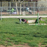 Photo taken at Robert A. Stuart Dog Park by Aaron E. on 4/24/2013