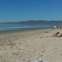 Photo taken at Santa Monica Beach Tower 26 by dana k. on 1/15/2014