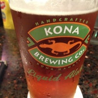 Photo taken at Kona Brewing Co. by Andrew C. on 6/15/2013