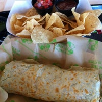Photo taken at Baja Fresh by Russell T. on 3/11/2014