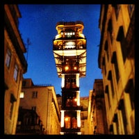 Photo taken at Elevador de Santa Justa by Full on 3/26/2013
