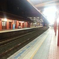 Photo taken at Parramatta Station by Brian C. on 7/22/2013