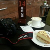 Photo taken at 咖啡之翼 Wing Cafe. Mini by Brian C. on 3/17/2013