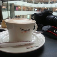 Photo taken at 咖啡之翼 Wing Cafe. Mini by Brian C. on 3/22/2013