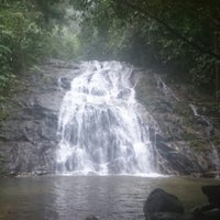 Photo taken at Ton Chong Fah Waterfall by Natalia F. on 11/21/2014