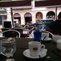 Photo taken at Café & Tapas by Zafer K. on 6/21/2013