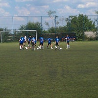 Photo taken at Omladinski stadion   OFK Beograd by Aleksandra S. on 6/15/2013