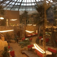 Photo taken at Hotel Aqua Meduna Druskininkai by Elena S. on 3/21/2016