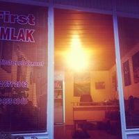 Photo taken at First Emlak & Tourism by Umut U. on 3/22/2013