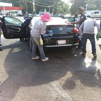 Photo taken at Montgomery Hills Car Wash by PhilnRaleigh on 6/28/2013
