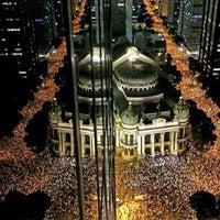 Foto tirada no(a) Theatro Municipal do Rio de Janeiro por Thiago D. em 6/18/2013