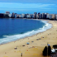 Photo taken at Copacabana Beach by Thiago D. on 5/22/2013