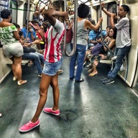 Photo taken at MetrôRio - Estação Central by Thiago D. on 2/17/2014