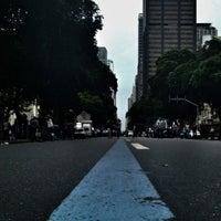 Photo taken at Avenida Rio Branco by Thiago D. on 11/26/2012