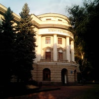 Photo taken at Одесская национальная академия связи им. А.С. Попова(ОНАС) by Maksym G. on 7/20/2013
